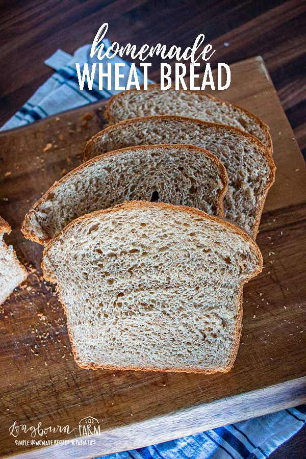 This homemade wheat bread recipe is simple, super soft, and so easy to make, even for a beginner! Get all the details you need! #wheatbread #breadrecipe #wheatbreadrecipe #wheatbreadrecipeeasy #wheatbreadeasy #wheatbreadhomemade #easybreadrecipe #homemadebreadrecipe via @longbournfarm