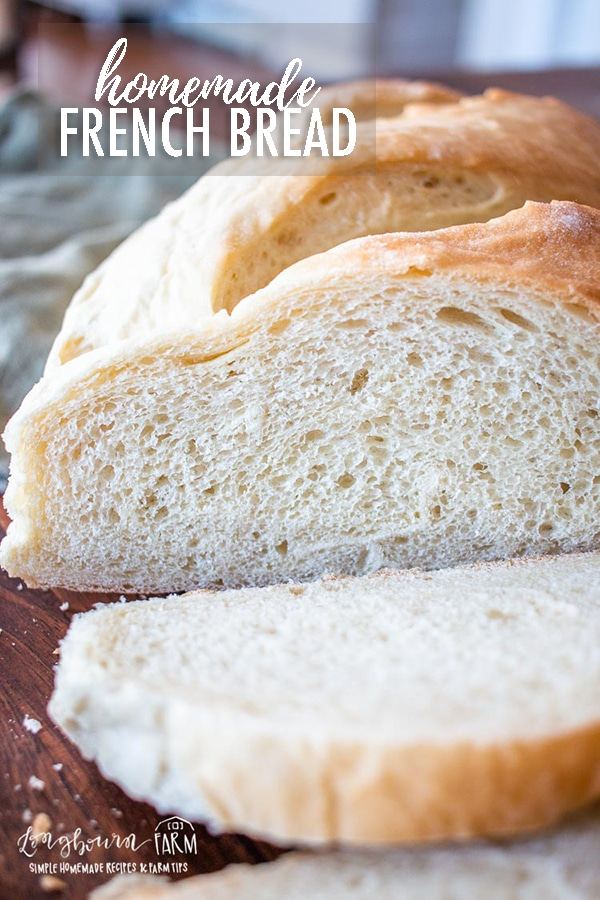 French bread is delicious and fluffy with a crunchy golden crust. It's soft and chewy textures and great flavors pair well with just about anything.