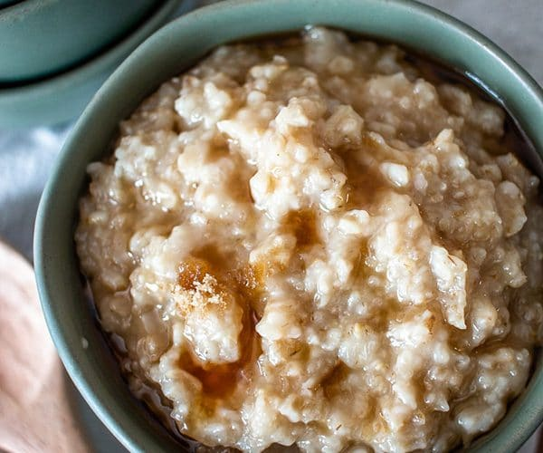 instant pot oatmeal maple and brown sugar
