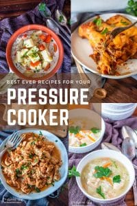 Pressure cooker recipes are easy, quick, and delicious! They cut down on cook time and avoid heating the oven. Family favorites in just minutes.