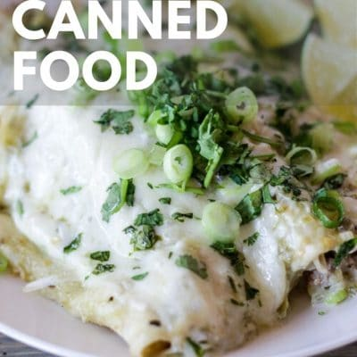 If you're stressed about knowing how to make delicious meals while using canned food stores, check out this list of canned food recipes!