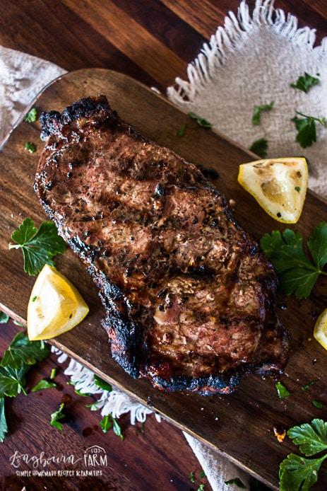 How To Grill Steak • Longbourn Farm