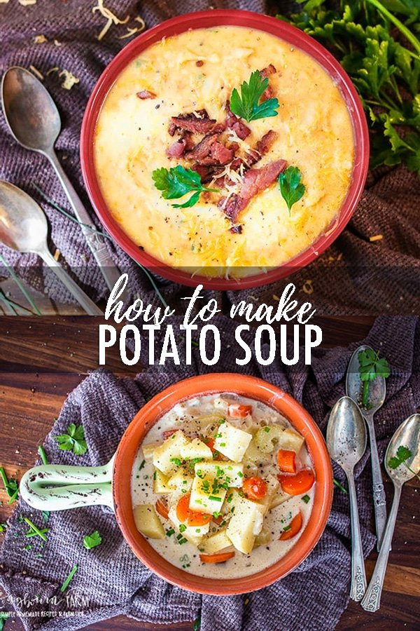 If you need all the tips on how to make potato soup, check out this post! Recipes, questions and answers, storage tips and more.