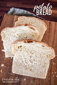 Potato bread is easy to make at home and so delicious fresh from the oven. You're whole family will love it and request it over and over!