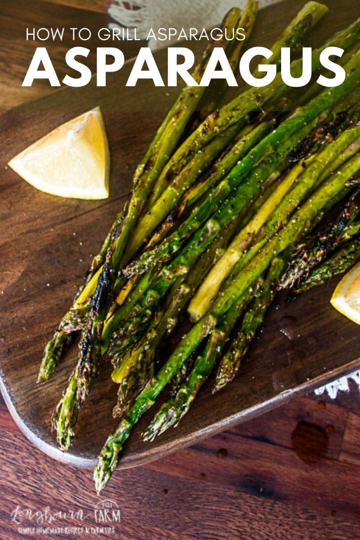 Learning how to grill asparagus is not hard! It's delicious and done in just a few minutes. Perfectly seasoned but packed with flavor.