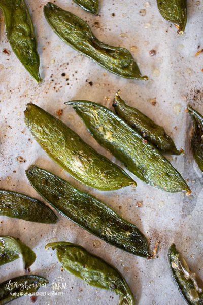 Roasted Peas