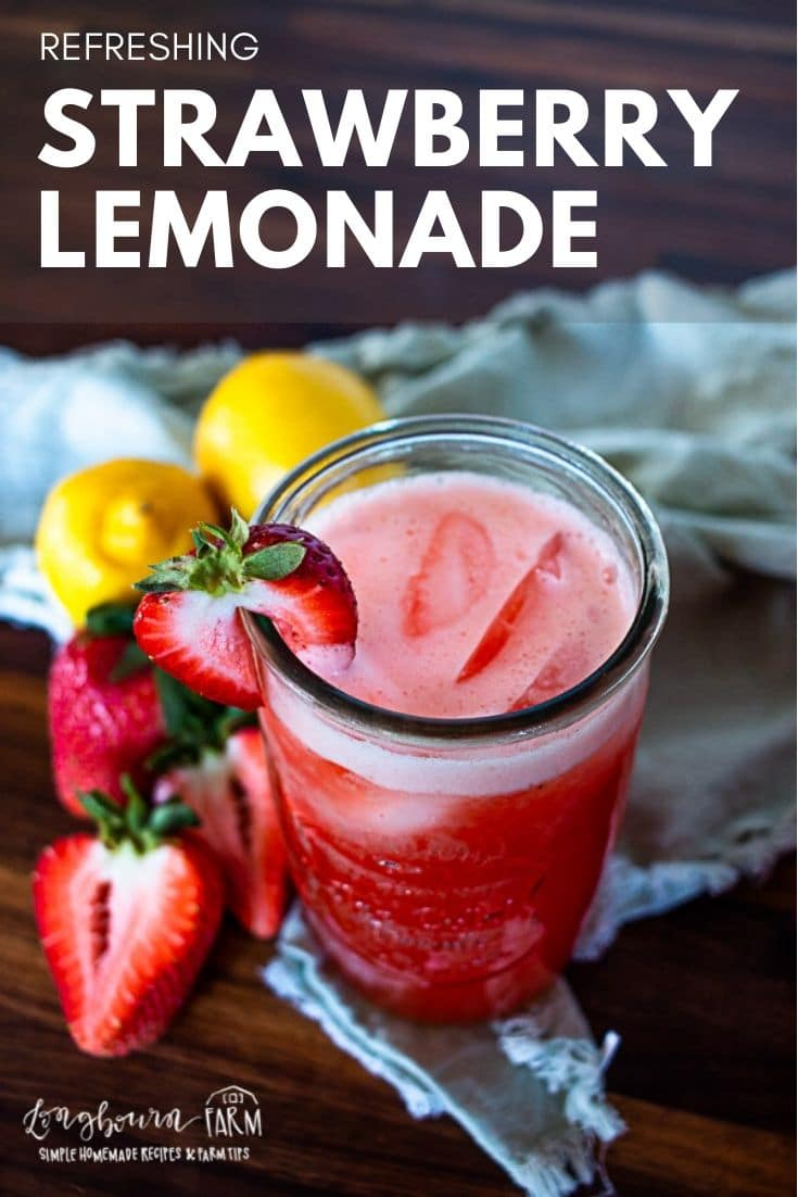 Strawberry lemonade is a delicious drink that's perfect for summer. With this sweet and sour drink, you can kick your feet up and enjoy the warm weather!