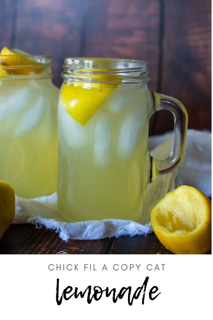 If you're looking to recreate that tangy, sweet taste of Chick Fil A Lemonade at home, this recipe is for you! Super simple and super delicious.