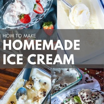 Making homemade ice cream is easy and fun! Get all the tips and tricks you need here, along with ice cream maker recommendations and recipes.