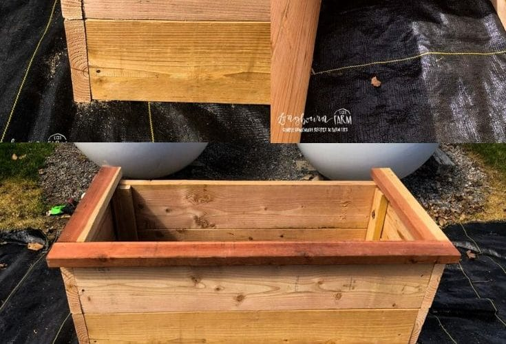Building a DIY Tall Planter Box is really easy and much cheaper than buying one. With a few supplies, you can get it done a few hours.