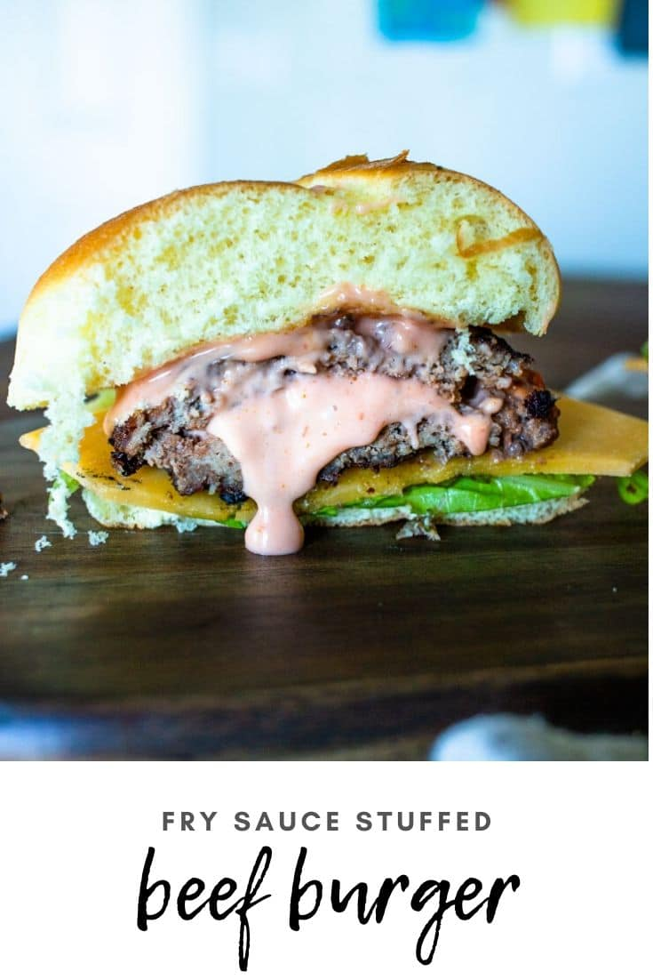 (sponsored) Fry sauce Beef Burgers are a delicious way to ramp up a traditional hamburger! Overflowing flavor and perfectly juicy, they are sure to be a hit at your next BBQ. @beefitswhatsfordinner #BeefItsWhatsForDinner #NicelyDone #beeffarmersandranchers #unitedwesteak