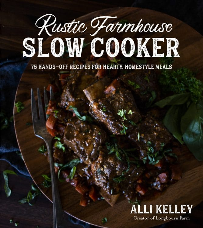 Cover image for Rustic Farmhouse Slow Cooker cookbook.