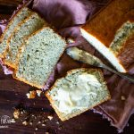 sliced almond poppy seed bread and butter