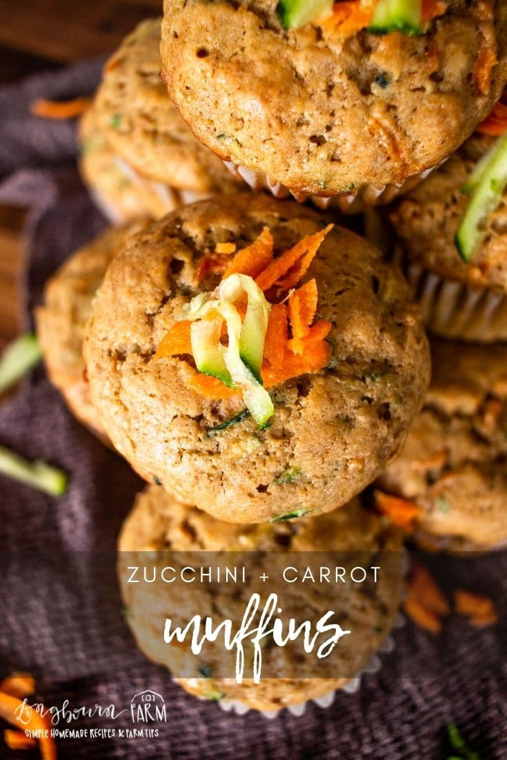 Zucchini carrot muffins are delicious, flavorful with just a little spice, and perfectly moist. Great for breakfast or anytime!
