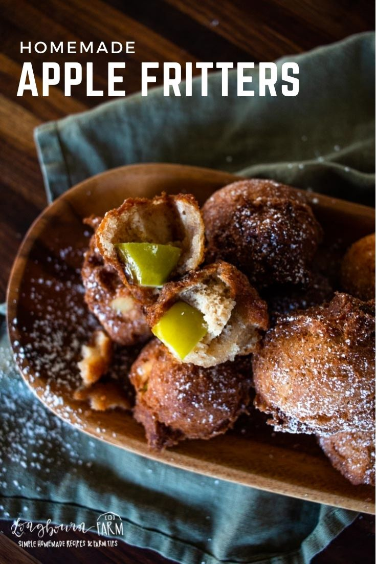 Homemade apple fritters are nothing like what you find in stores. These are warm, soft, crunchy, and soooo good!
