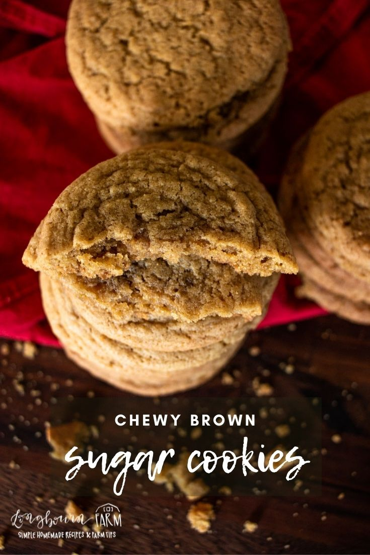 Brown sugar cookies are an easy to make, delicious flavorful chewy cookie recipe that you don't want to stray far from.