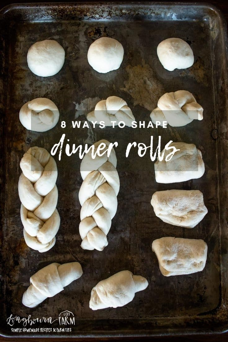 (sponsored) Learning how to shape dinner rolls is so easy! Learn eight different techniques with step-by-step photos to ensure your success. Stock up your freezer with these affordable rolls so you're always prepared for a party!