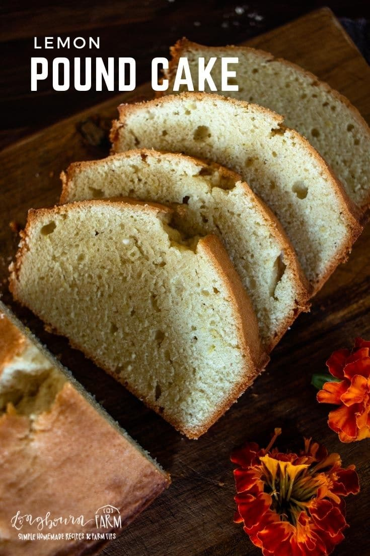 Lemon pound cake is a dense and delicious cake that's easy to make and doesn't require much effort at all.