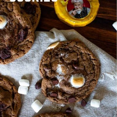 With soft and chewy hot chocolate cookies, you can enjoy a flavorful cookie that's bursting with toasted melted marshmallows. Yum!