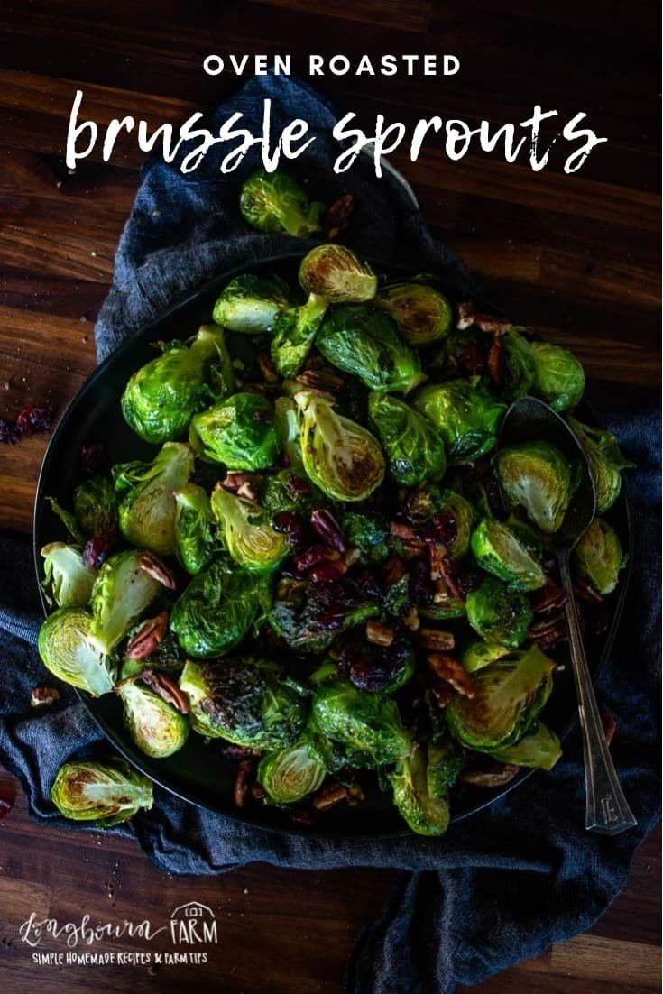 Oven-roasted brussel sprouts are an easy way to make a sweetened, caramelized and crunchy green vegetable come to life.
