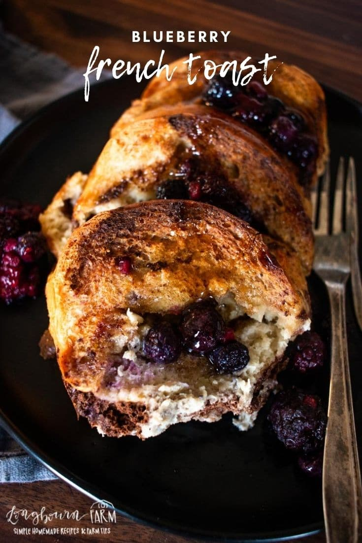 This blueberry french toast bake is a delicious breakfast dish that comes together easily and wonderfully.