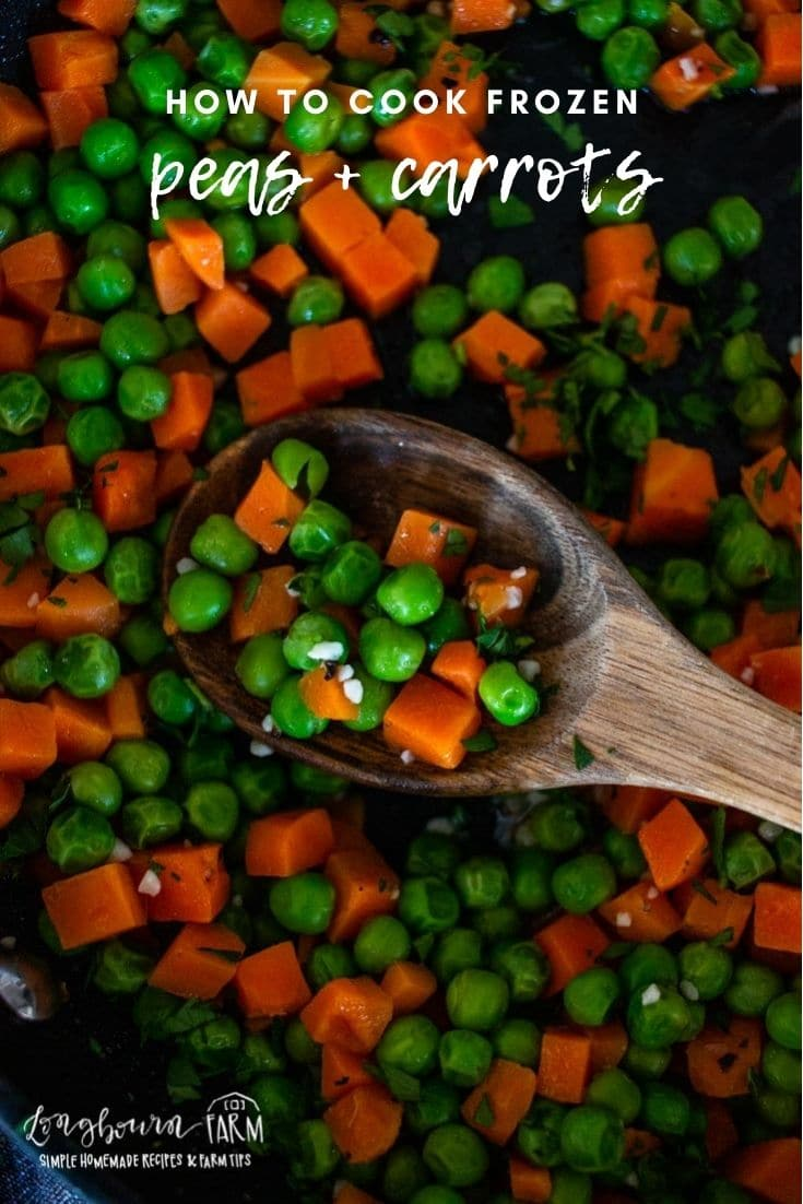 Making frozen peas and carrots is easy and can be delicious too! Don't eat bland and boring veggies. Try these!