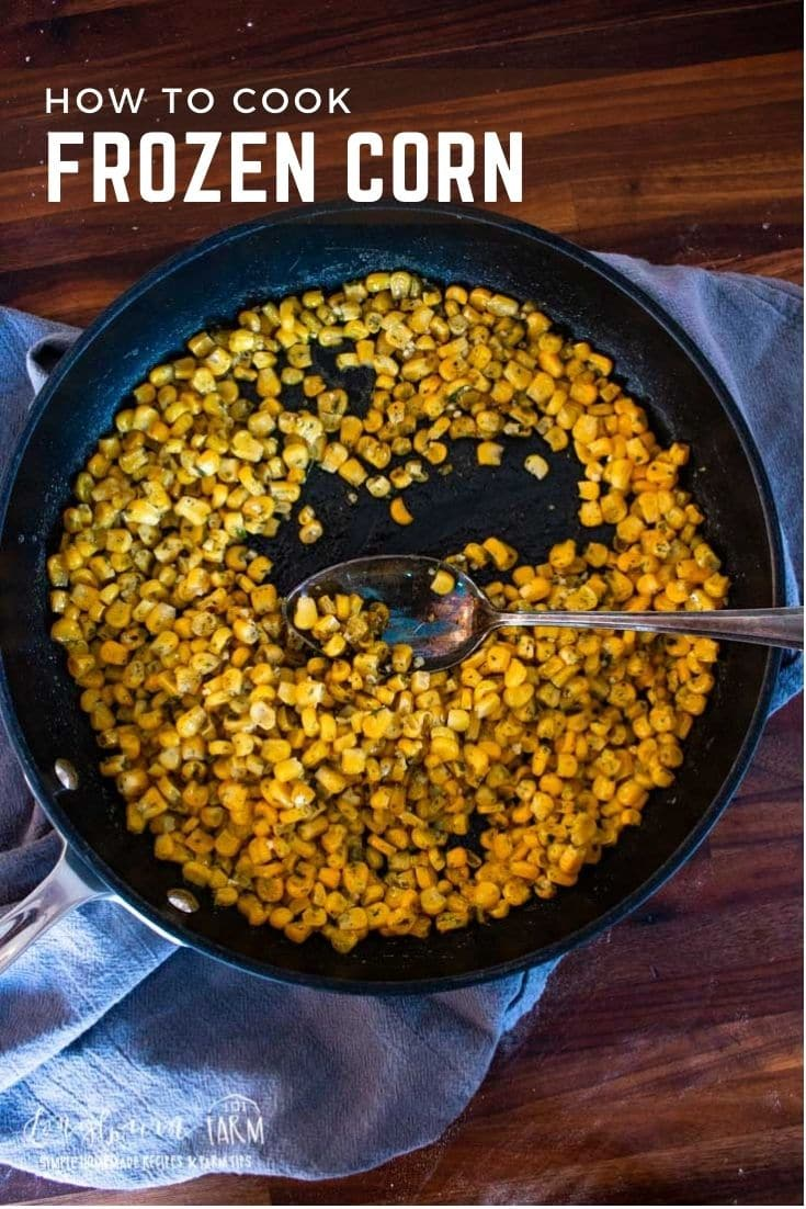 Frozen corn is a great asset to many kitchens so you can enjoy fresh-tasting corn even long after the fields have grown bare!