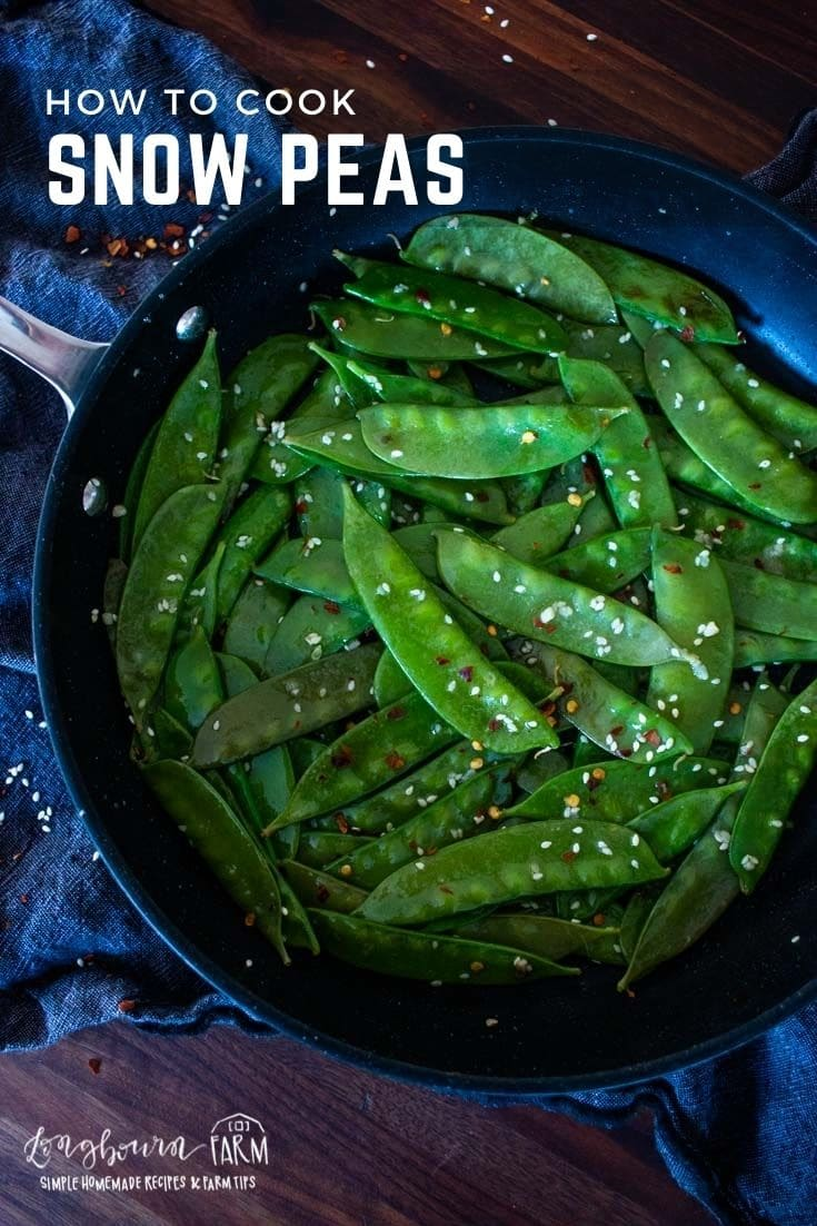 Cooking up a batch of tasty snow peas on the stovetop is a great way to make a fresh-tasting side dish. It's fast, it's easy, and flavorful!