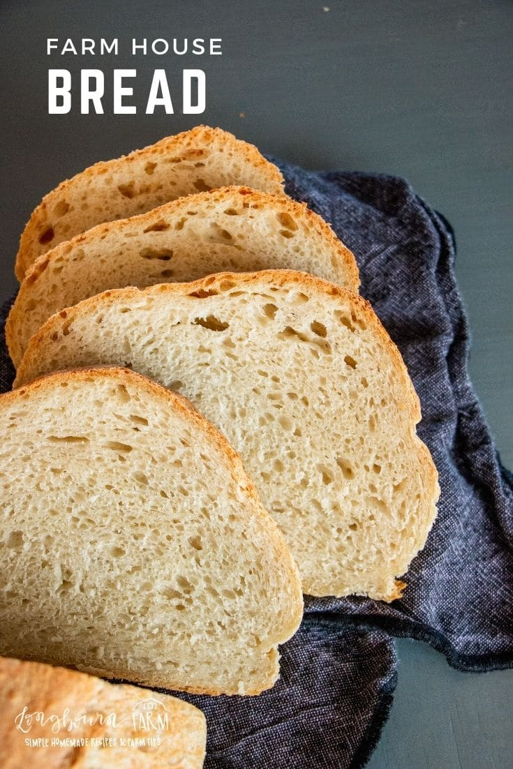 Farm style bread is an easy, simple, and delicious bread recipe that you'll be able to make over and over. No equipment and no kneading!