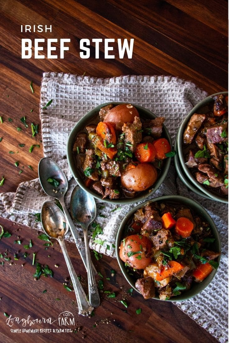 (#sponsored) Irish Beef Stew is a deeply flavorful stew that is guaranteed to fill every belly and satiate every appetite. Hearty beef, bold Irish stout beer, and root vegetables make it a perfect meal. @beeffordinner #BeefItsWhatsForDinner #NicelyDone #BeefFarmersandRanchers #StPatricksDay