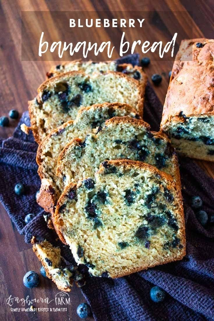 Blueberry banana bread is a moist, sweet, and fabulous loaf that's packed with juicy blueberries and bursting with flavor. Every bite tastes like a summer's dream.