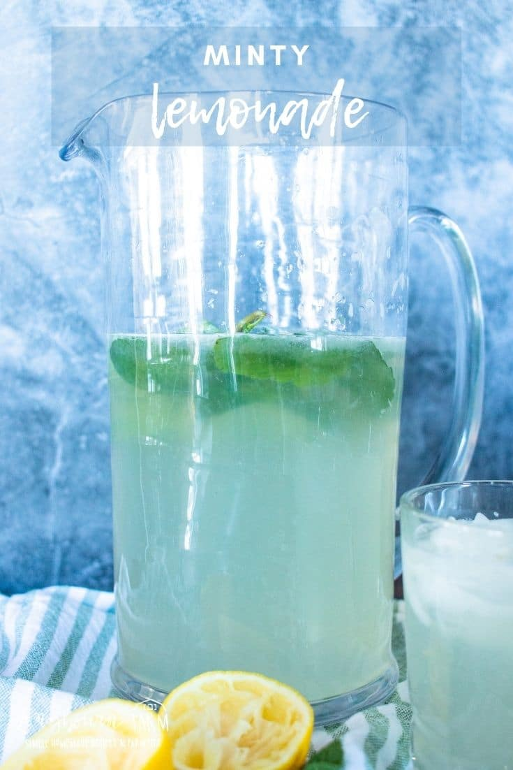 This mint lemonade recipe is one you'll treasure this summer on hot days! Every sip will have you feeling refreshed.
