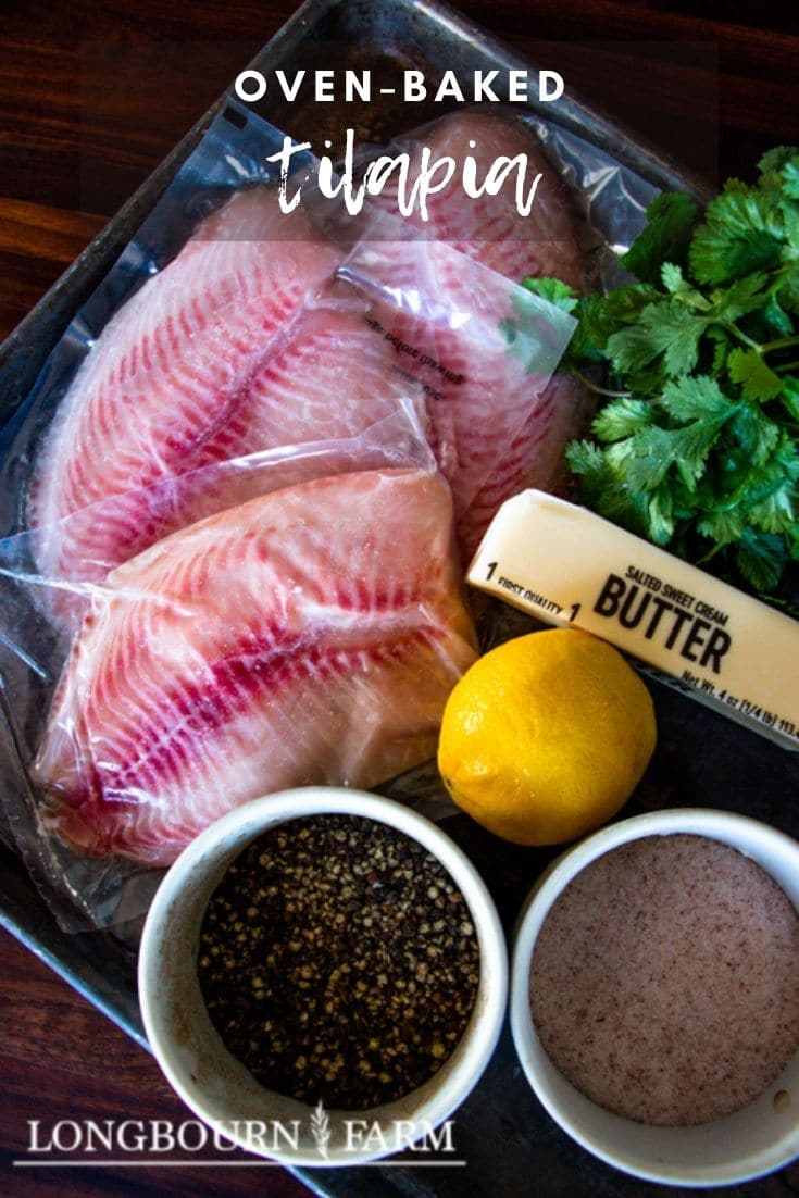 Oven baked tilapia is a delicious and affordable meal that brings fresh tasting fish to the table in a simple and tasty way.