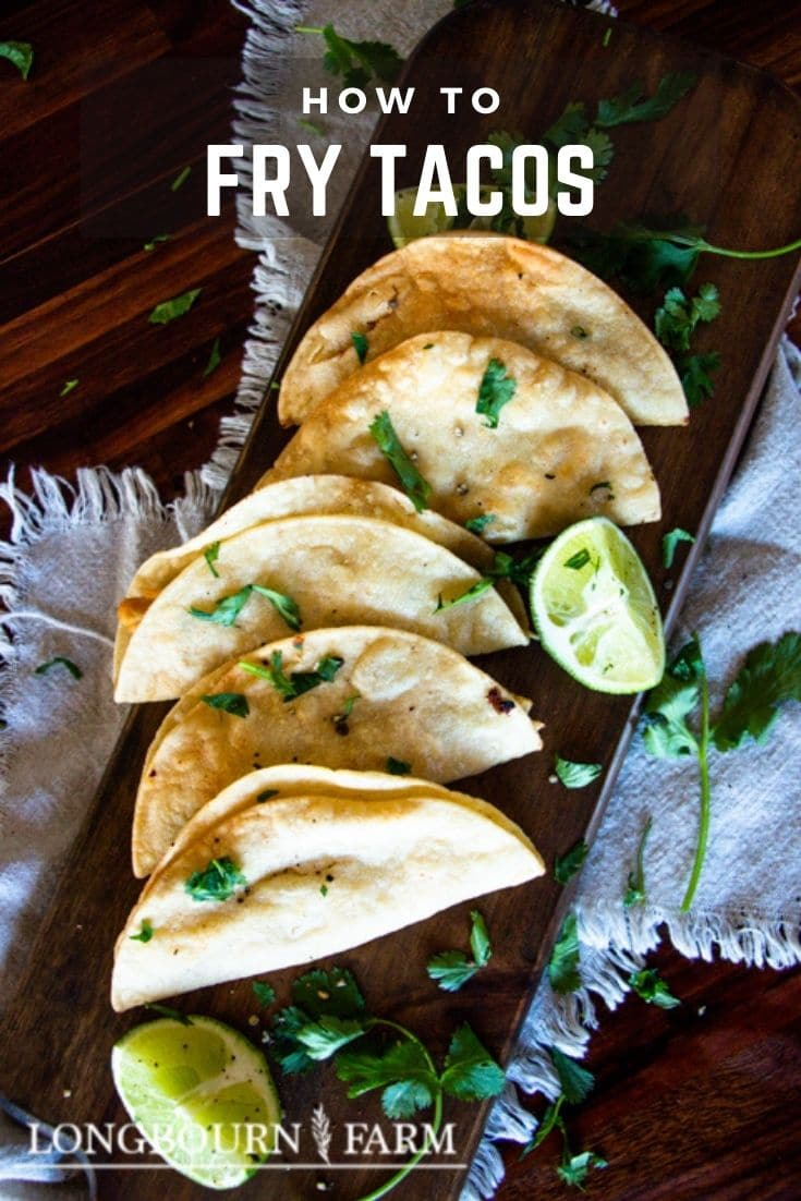 These deep fried tacos are a perfect way to add a delicious and crunchy spin to your taco night meal. Made with just 3 ingredients, these fried tacos are easy to make and absolutely delicious.