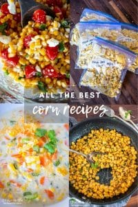 Corn is a wonderful vegetable with many different possibilities. It can be versatile and used in practically any dish!