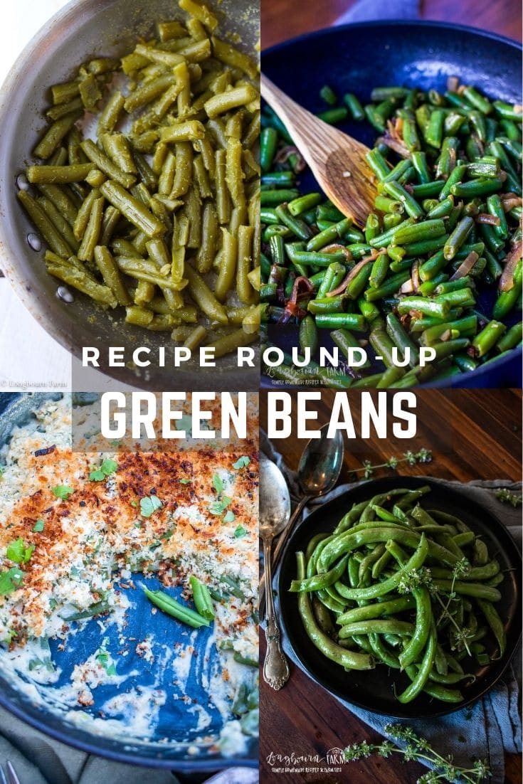 Green beans are an easy-to-grow veggie but they're also pretty affordable in the store and can be purchased or prepared in any number of ways.