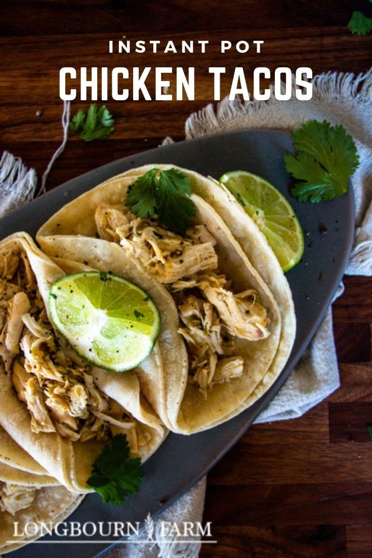 Making Instant Pot chicken tacos is a great way to get dinner on the table quickly and ensure that it's going to taste delicious.